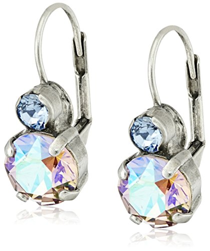 Sorrelli 'Dixie' Round Crystal French Wire Drop Earrings