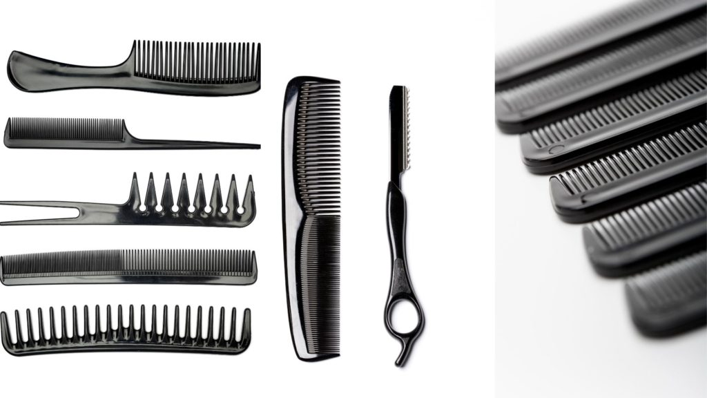 Different types of combs