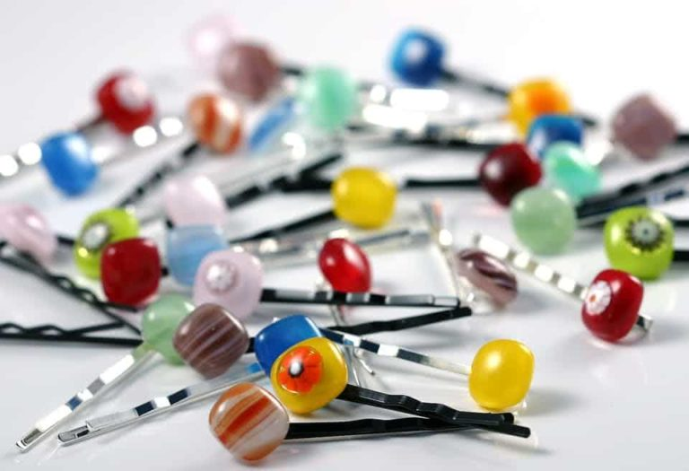 An assortment of hair clips.