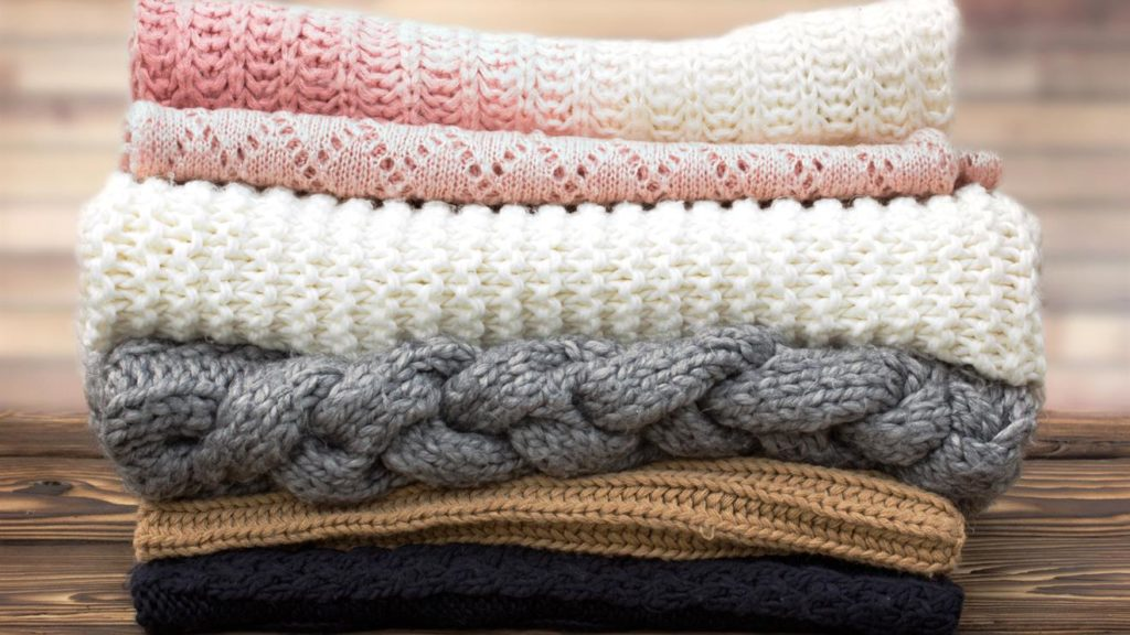 types of sweater materials