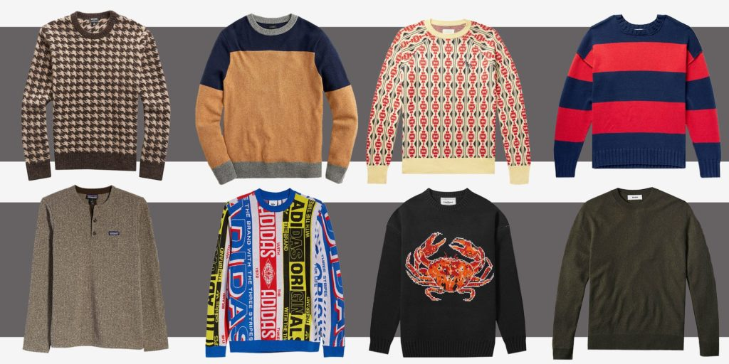 types of sweater patterns